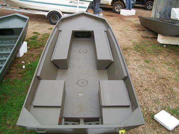 Jon Boats: V Bottom Jon Boats
