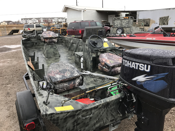 used weldbilt boats